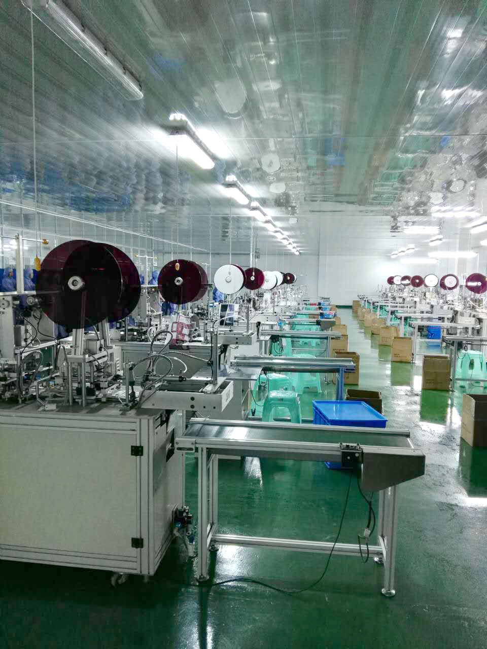 Mask Production Line